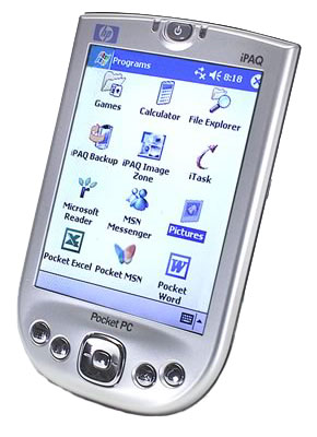 Операционная система. Pocket PCWindows Mobile, MS Pocket PC 2003. HP